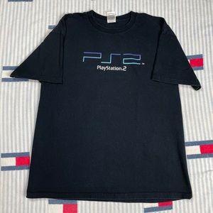 Vintage Play Station 2 Promo tee shirt